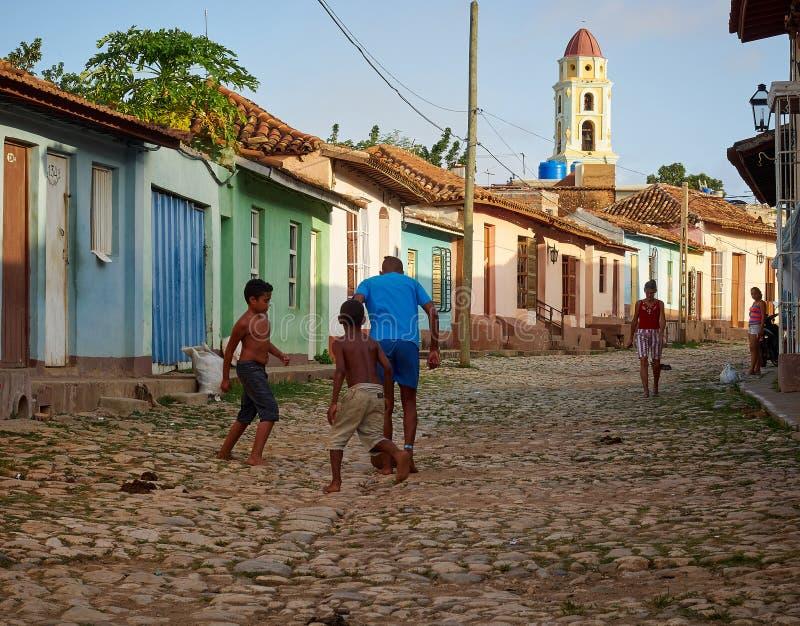 Trididad Cuba as Caraíbas imagem de stock
