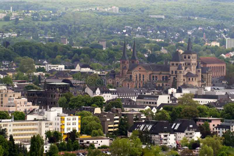 Trier in Germany. Town of Trier in Germany royalty free stock photo