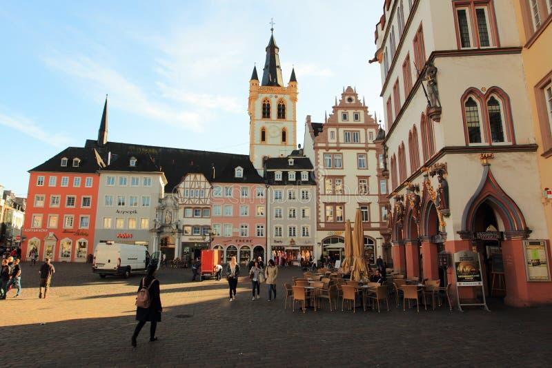 Trier - mercado imagens de stock royalty free