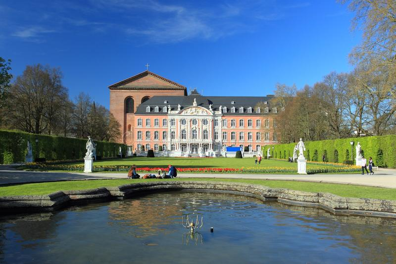 Trier palace royalty free stock photography
