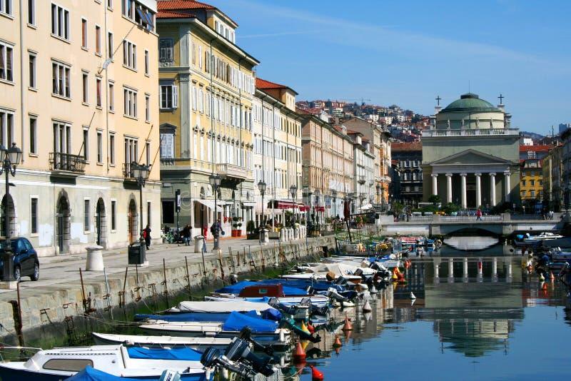 Trieste imágenes de archivo libres de regalías