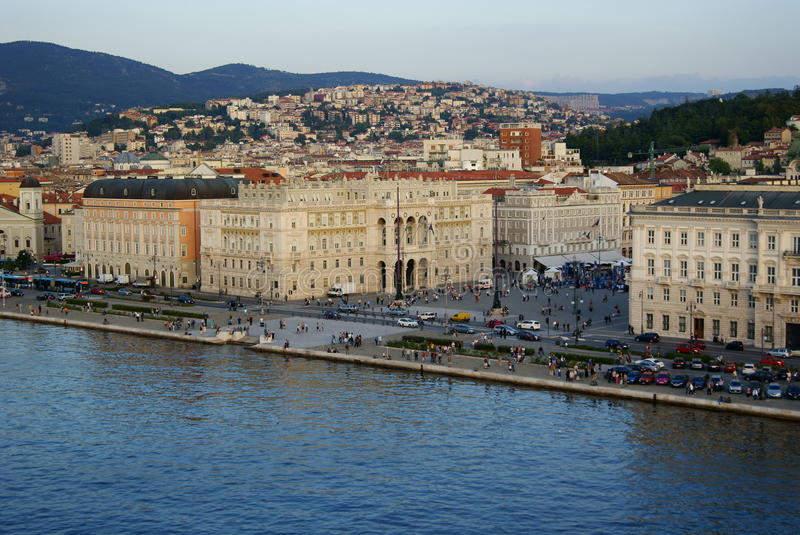 Trieste photographie stock