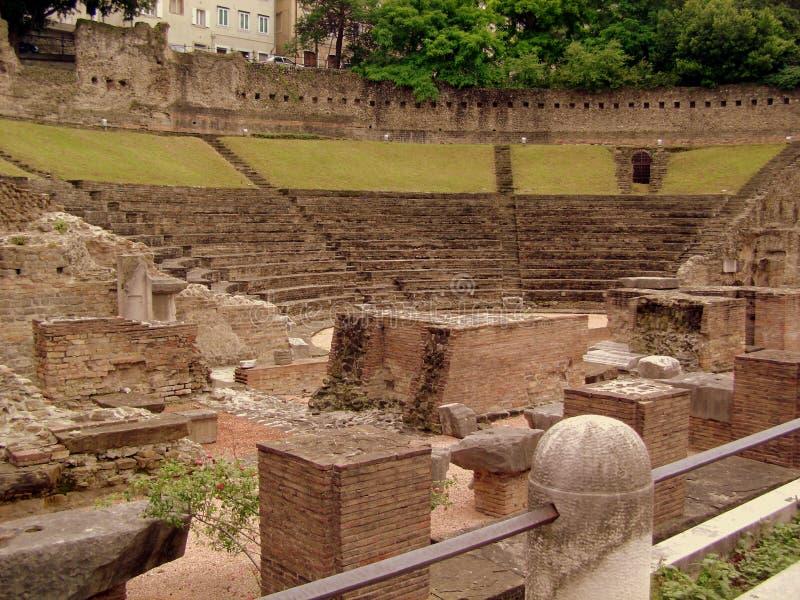 Trieste, amphitheatre imagen de archivo