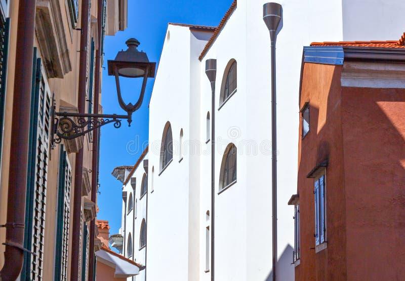 Trieste, as arquiteturas e artes fotos de stock