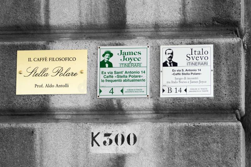 Trieste - Caffè Filosofico imagem de stock royalty free