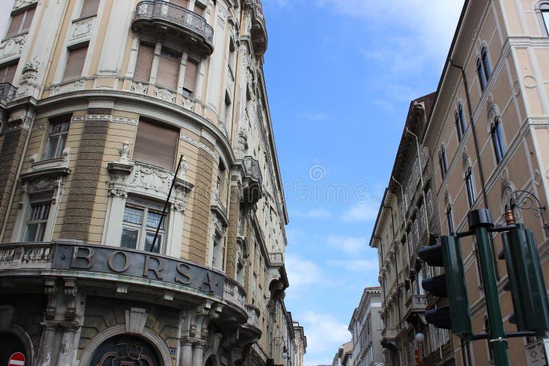 Trieste. City Centre stock images