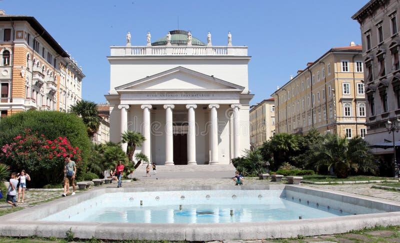 Trieste, Italia fotos de archivo libres de regalías