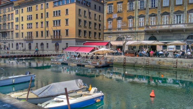 Trieste, Italia foto de archivo libre de regalías