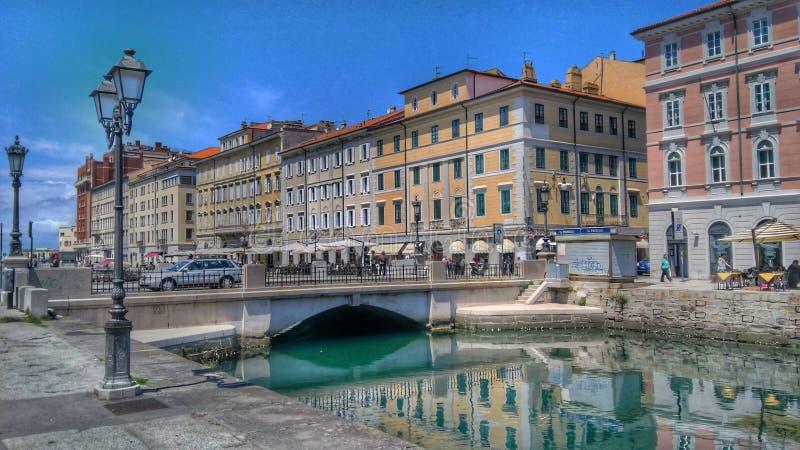 Trieste, Italia foto de archivo