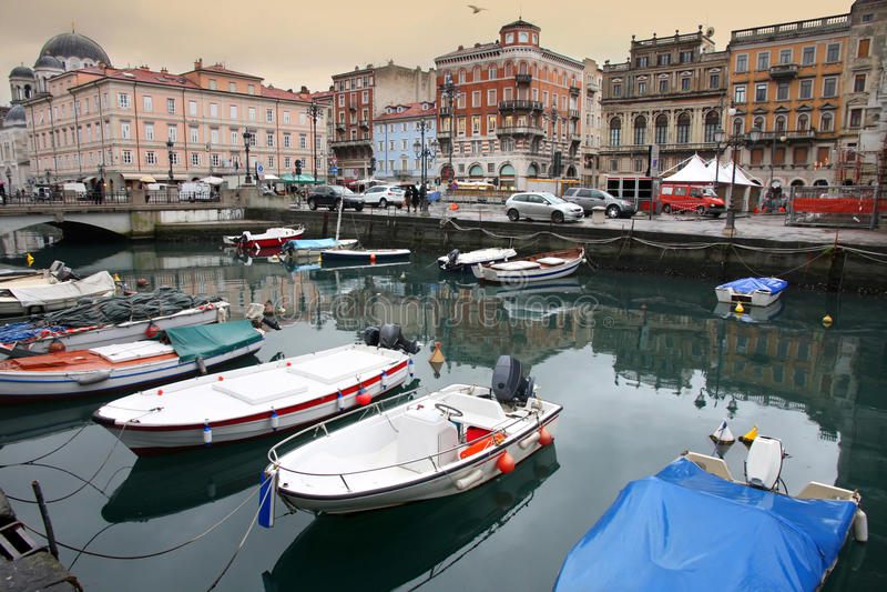 Trieste, Italia imagen de archivo