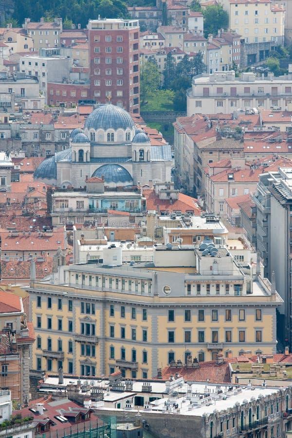 Trieste Italy imagens de stock