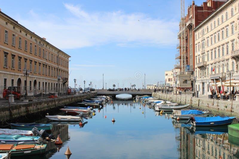 Trieste. Landscape Sea stock images