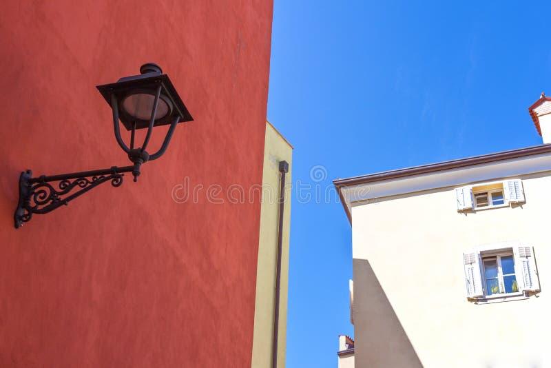 Trieste, las arquitecturas y artes fotos de archivo libres de regalías