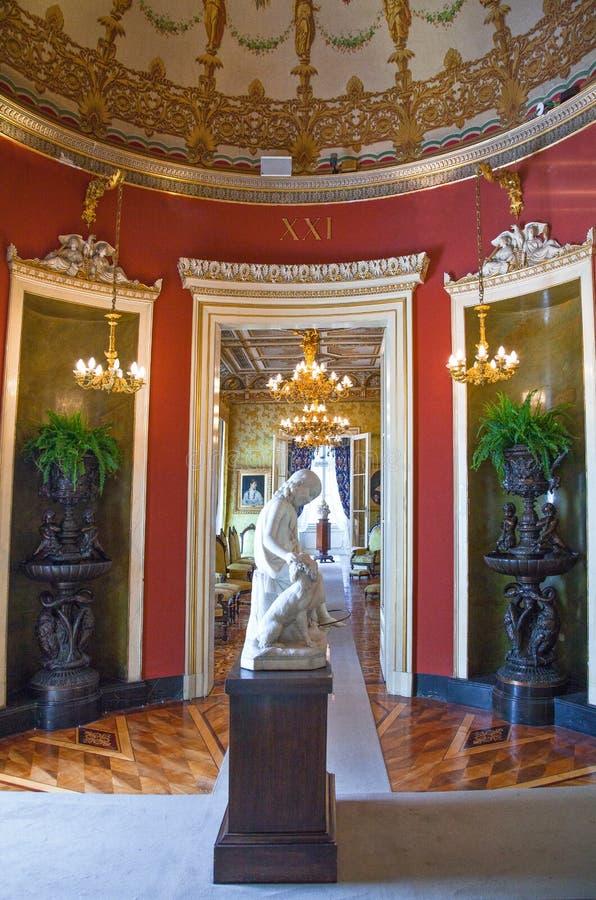 Trieste, le architetture ed arti fotografie stock