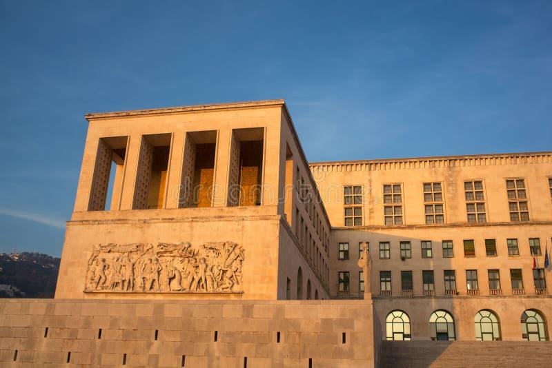 Trieste university stock photos
