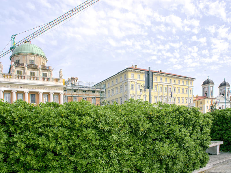 Trieste. A very beautiful town in italy stock photo