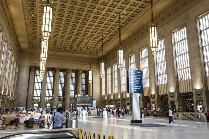 trigésima estación de la calle, Philadelphia foto de archivo libre de regalías