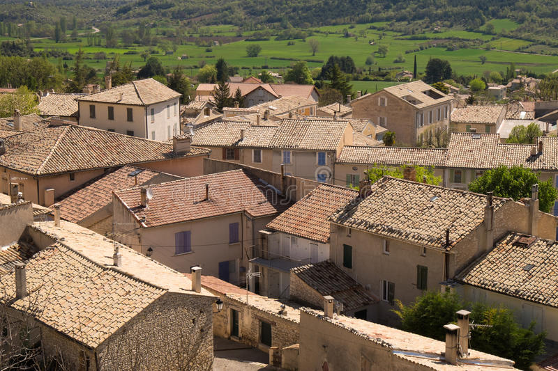 Trigance Southern France royalty free stock photo