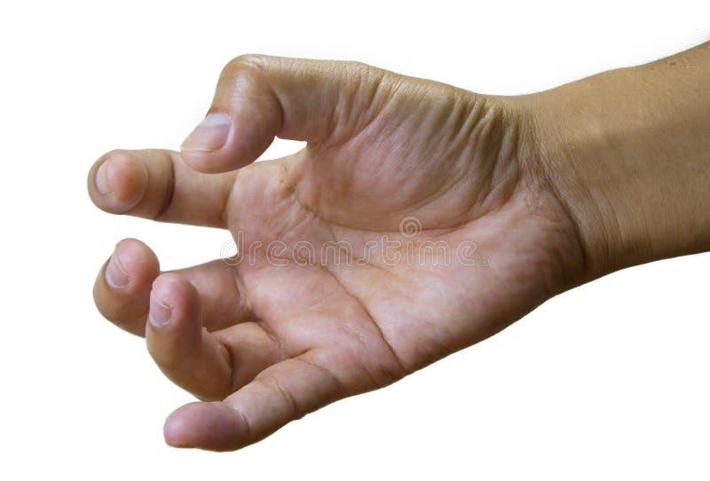 Triggerfinger lizenzfreies stockfoto