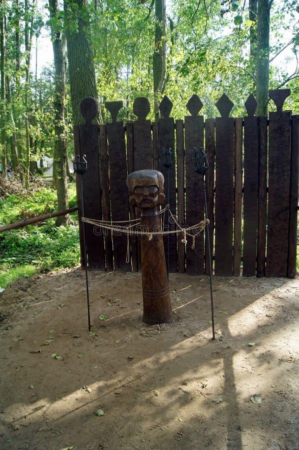 Triglaw, dios eslavo fotos de archivo libres de regalías