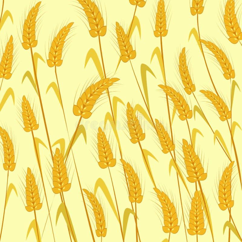 Trigo maduro ilustração stock