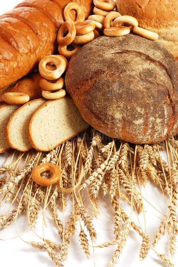 Trigo y pan imagen de archivo