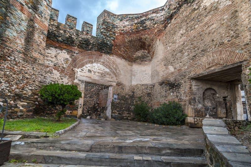 Trigonion Tower Thessaloniki royalty free stock photo