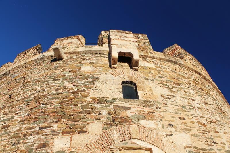 Trigonion Tower, Thessaloniki, Greece stock photo