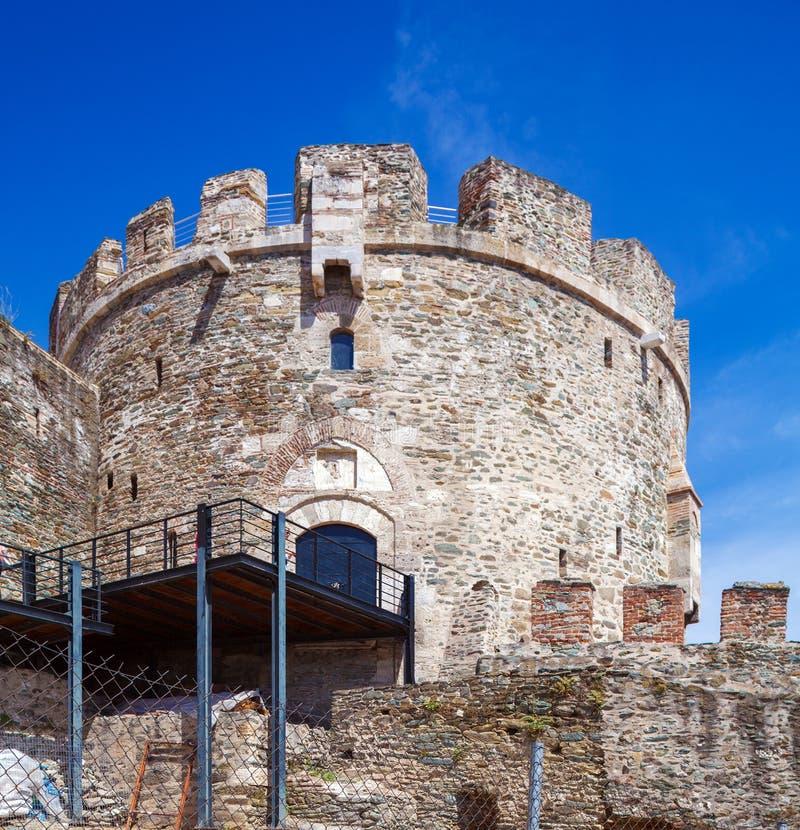 Trigonion Tower, Thessaloniki royalty free stock image