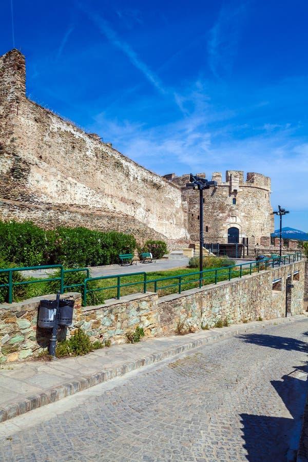 Trigonion Tower, Thessaloniki stock photos
