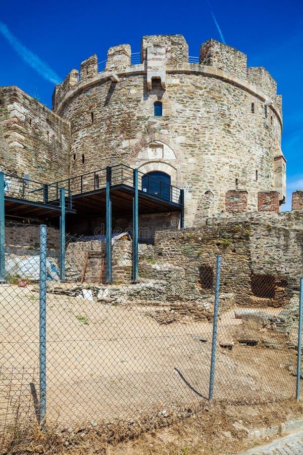 Trigonion Tower, Thessaloniki stock photo