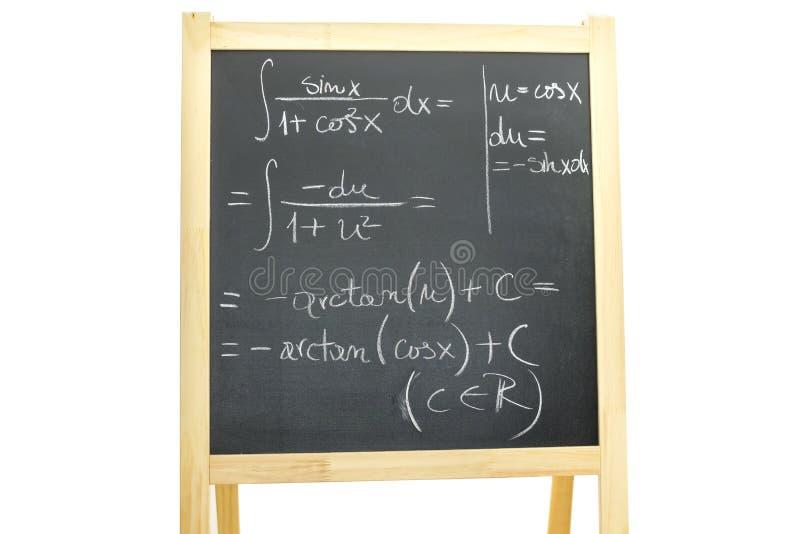 Trigonometrie stock foto's
