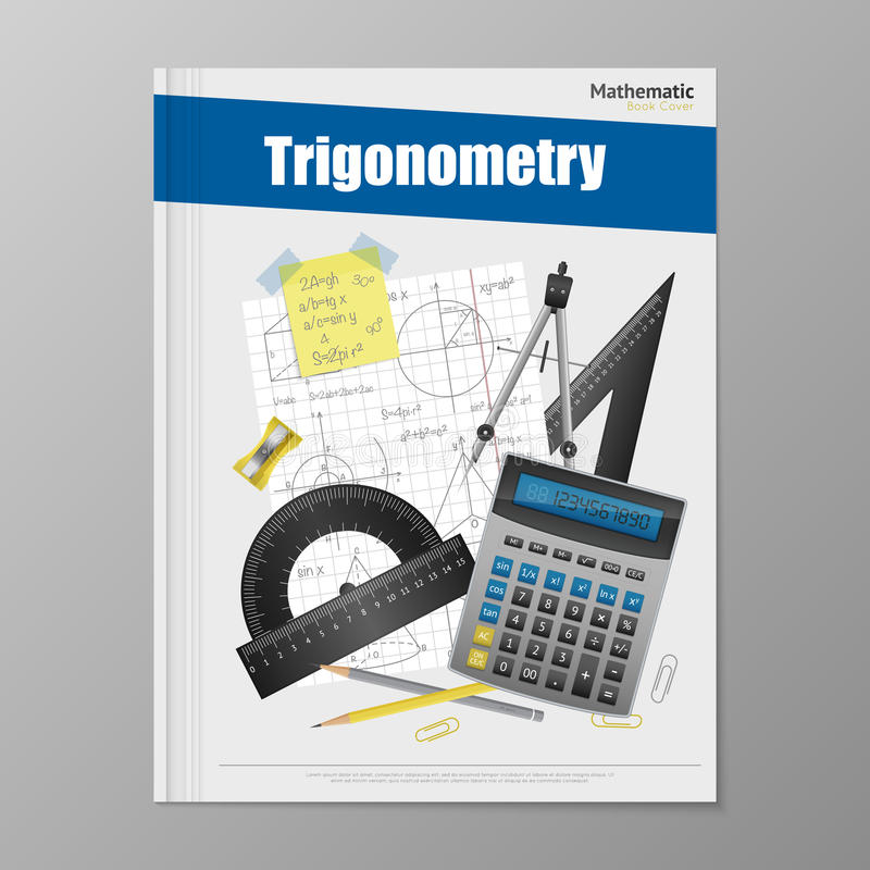 Free Trigonometry Flyer Template Stock Photos - 78999283