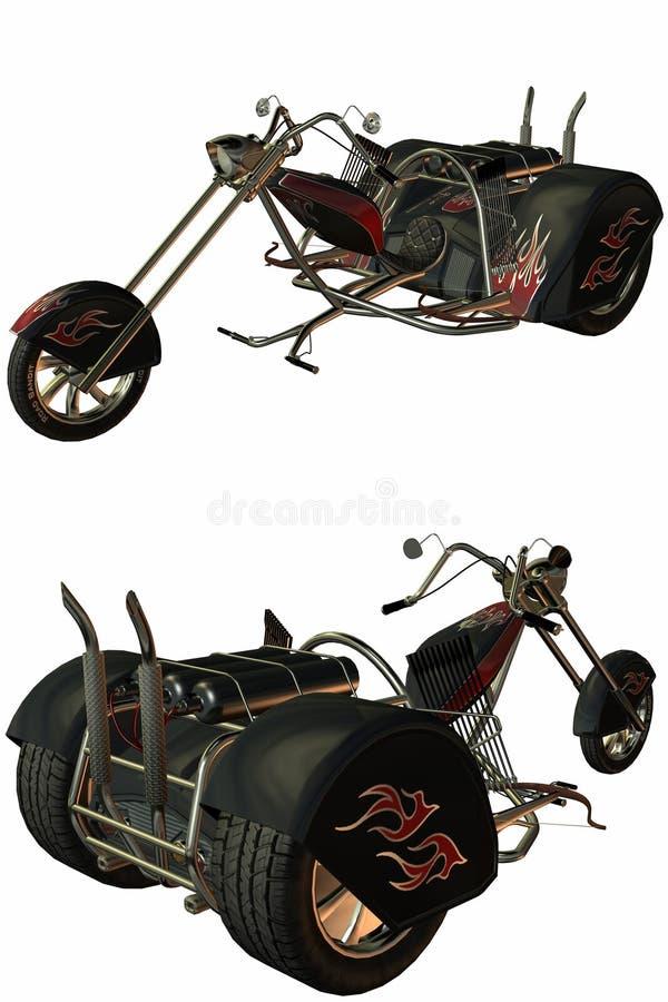 trike stock illustrationer