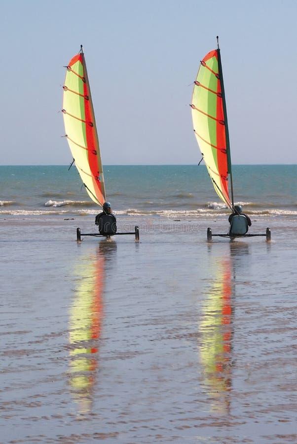 Trike da praia foto de stock royalty free