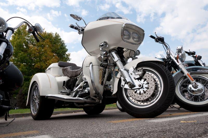 Trike de Harley Davidson imagen de archivo libre de regalías