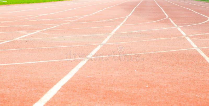 Trilha atlética foto de stock