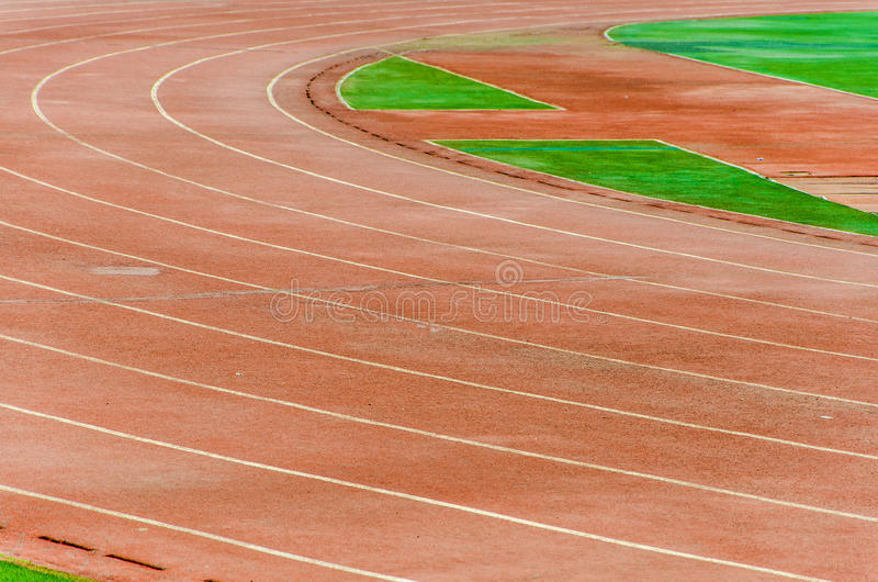 Trilha atlética foto de stock royalty free