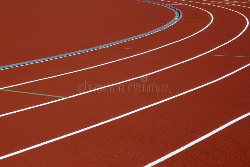 Trilha do atletismo imagens de stock royalty free