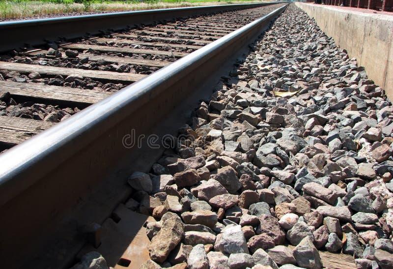 Trilha do trem fotografia de stock royalty free