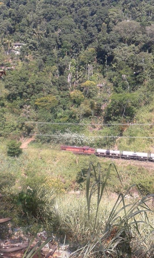 Trilha Railway de Badulla imagens de stock