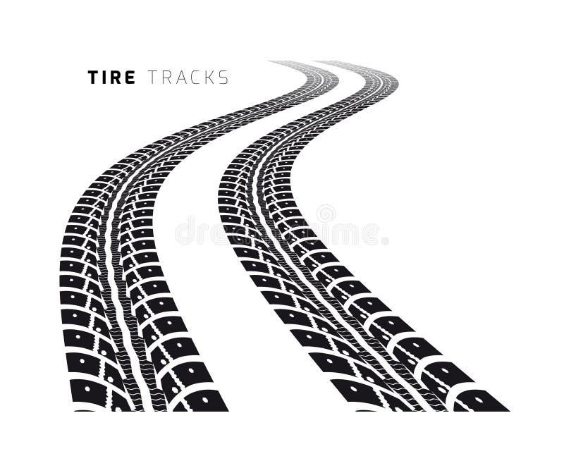 Trilhas do pneu