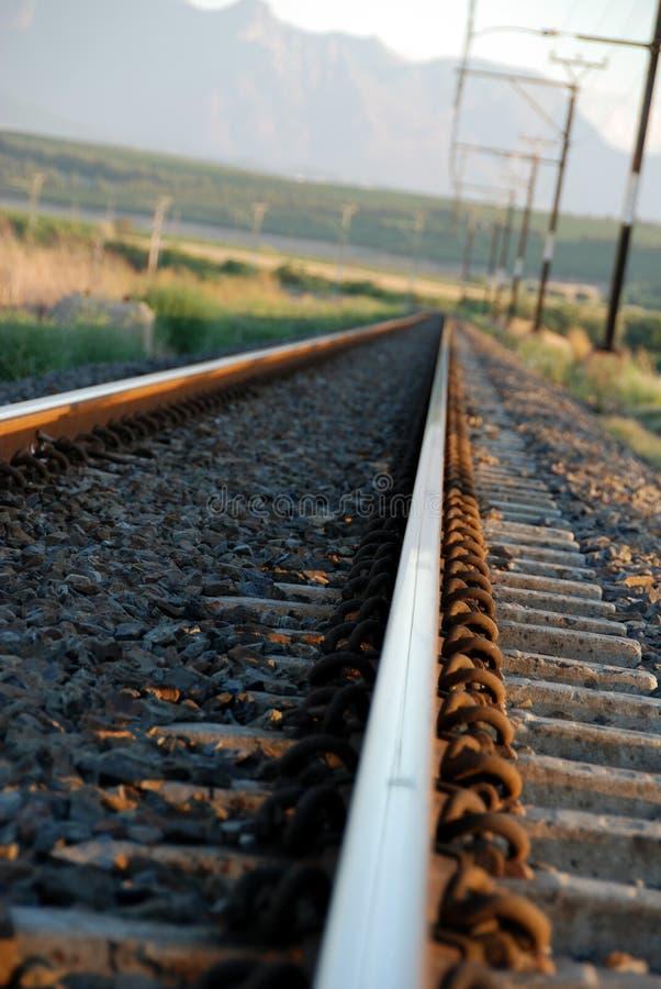 Trilhas do trem imagens de stock royalty free