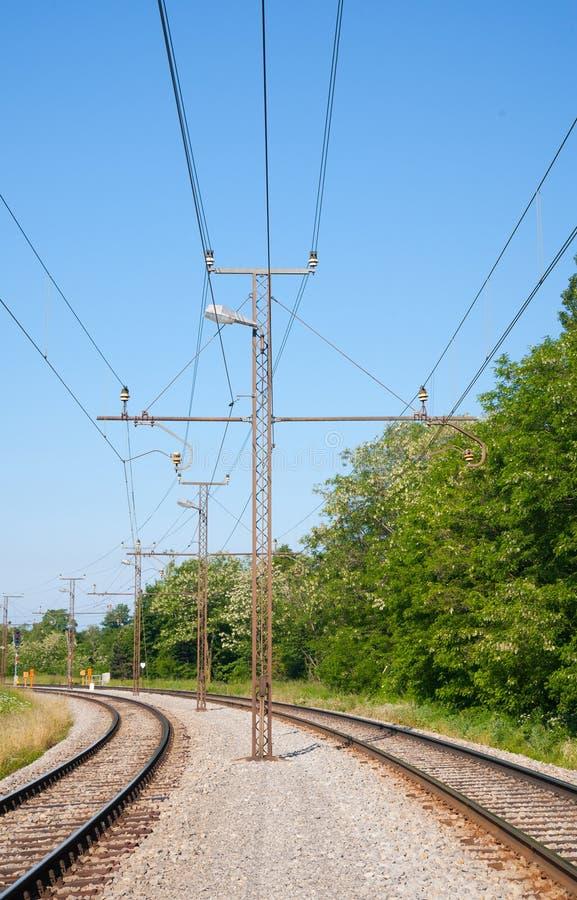 Trilhas Railway imagem de stock