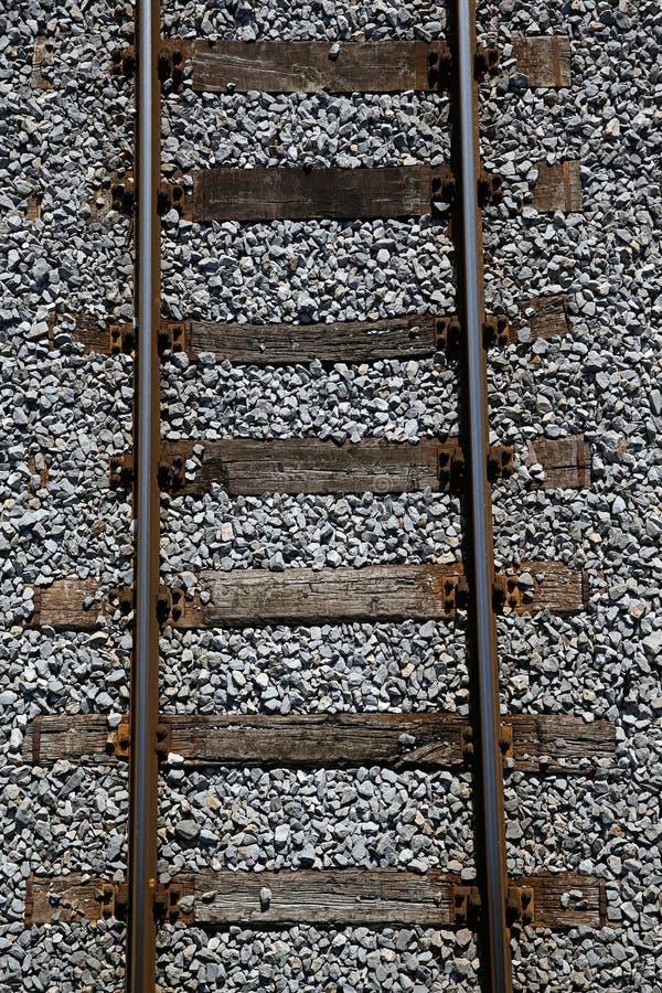 Trilhas Railway em um fundo uniforme foto de stock royalty free