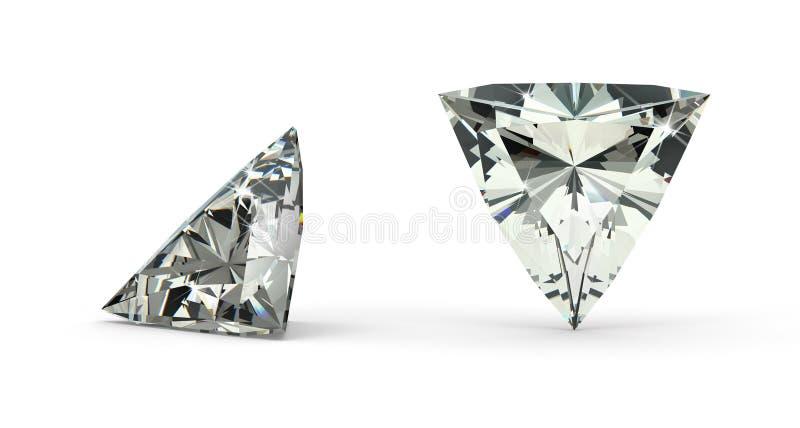 Triljoen sneed Diamant vector illustratie