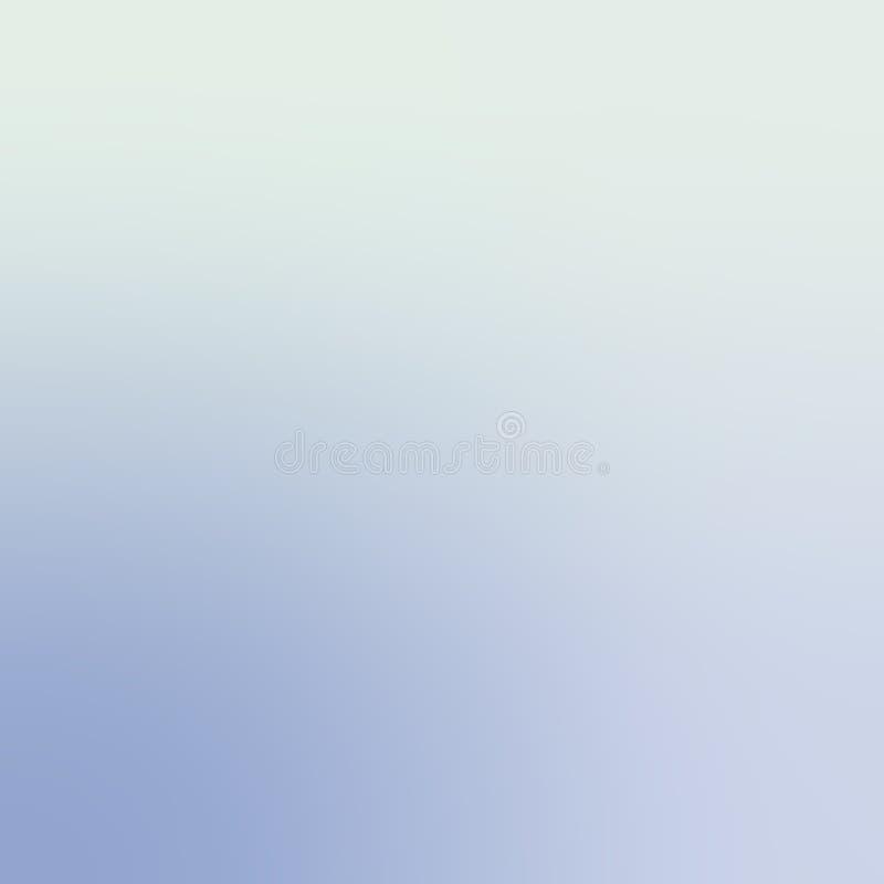 Trillend Blauw Gray Trendy Gradient Background Defocused Zachte Vage Achtergrond vector illustratie
