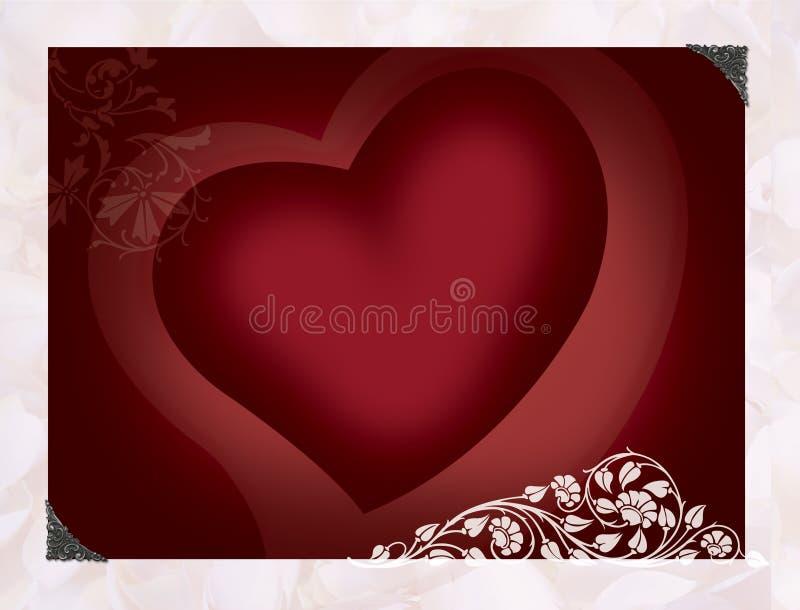 Trillend hart stock illustratie