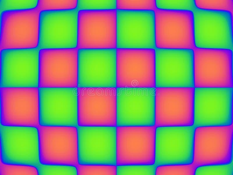 Trillend Patroon Vier van het pop-art vector illustratie
