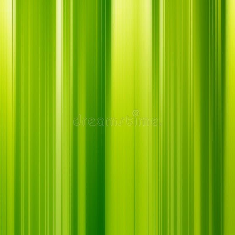 Trillende groene en gele verticale lijnenachtergrond stock illustratie